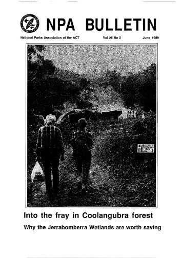 Vol 26 No 2 Jun 1989 - National Parks Association of the ACT