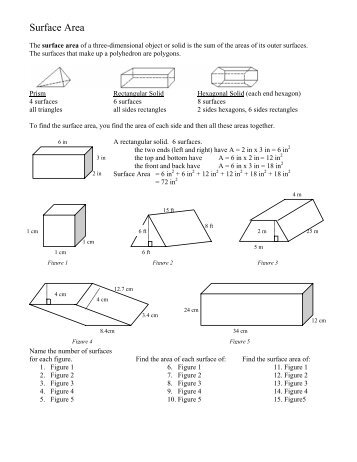 unit 4 3 surface area of rectangular. Black Bedroom Furniture Sets. Home Design Ideas