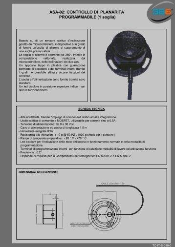 ASA-02: CONTROLLO DI PLANARITÀ PROGRAMMABILE (1 ... - 3b6.it