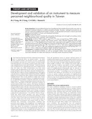 Development and validation of an instrument to measure perceived ...