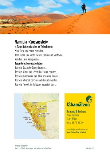Namibia »sossusvlei«