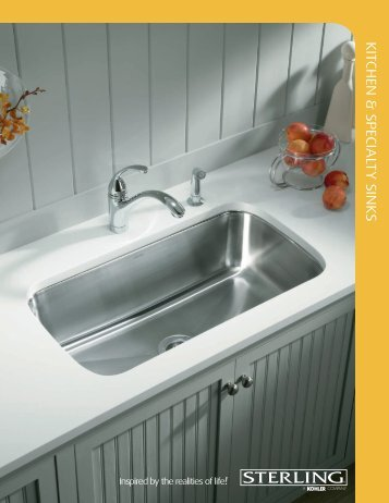 kitchen & specialty sinks - Sterling