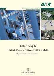 BEST-Projekt Fried Kunststofftechnik GmbH