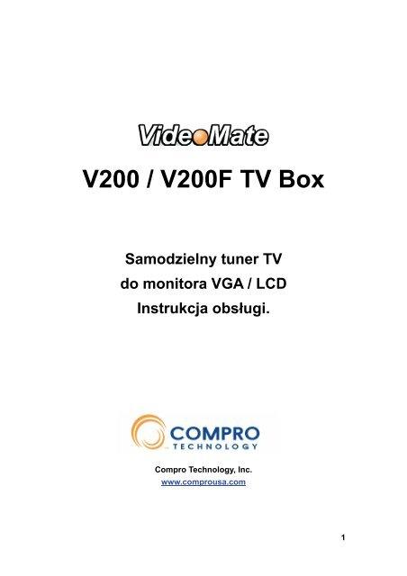 Obsuga VideoMate V200 V200F TV Box