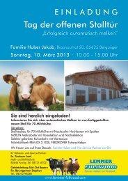 Tag der offenen Stalltür - Lemmer - Fullwood GmbH