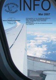 Mai 2007 - Vereinigung Luftfahrt eV