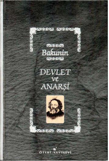Devlet ve Anarsi - Bakunin