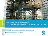 Gasification and Syngas Research - Expert Group on Clean Fossil ...