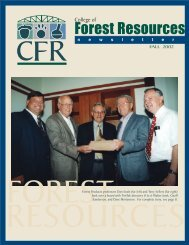 Fall 2002 - College of Forest Resources - Mississippi State University
