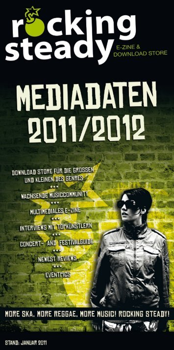 Mediadaten - Rocking Steady!