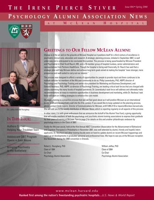 MCL-014 Newsletter - McLean Hospital - Harvard University