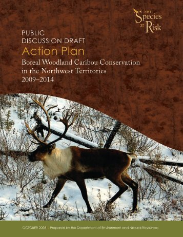 Boreal Caribou Conservation in the NWT - Environment and Natural ...