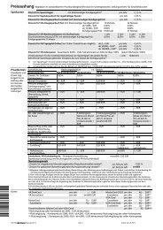 Preisaushang (Stand: 24.07.2013) - Volksbank Herrenberg-Rottenburg eG