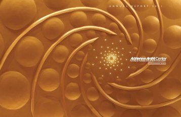 2011 Annual Report - Adrienne Arsht Center