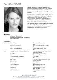 Vita (PDF) - Reitzenstein Management