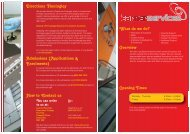 Learner Services Booklet - Doncaster College