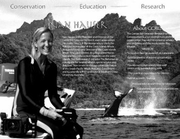brochure and donation form - WhaleResearch.org