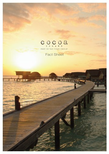 Cocoa Island Fact Sheet