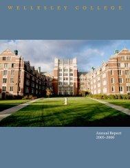 2005-2006 - Wellesley College