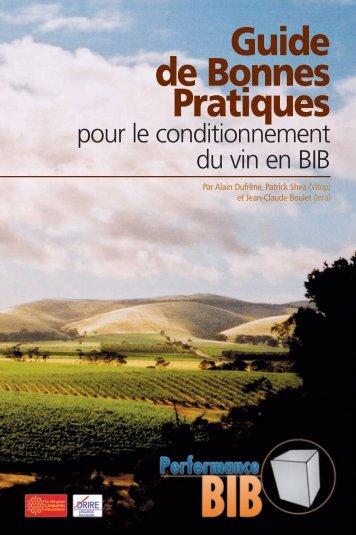 Guide des bonnes pratiques du conditionnement en BIB