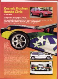 Kosmic Kustom Honda Civic By Jeral Tedwell - Airbrush Action ...