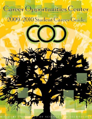 09-10 Student Guide Final.pub - Missouri S&T Career Opportunities ...