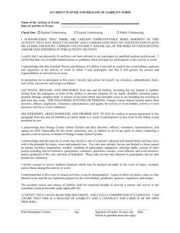 Dance Intensive Application Form & Waivers - Summer In La