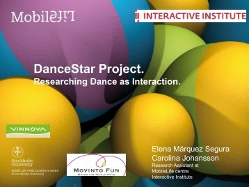 Researching Dance As Interaction - Presentation