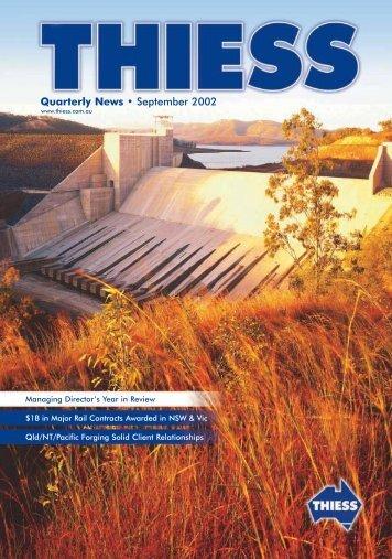 Thiess News September 2002