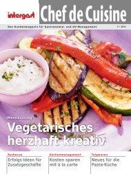 Vegetarisches herzhaft kreativ - Intergast