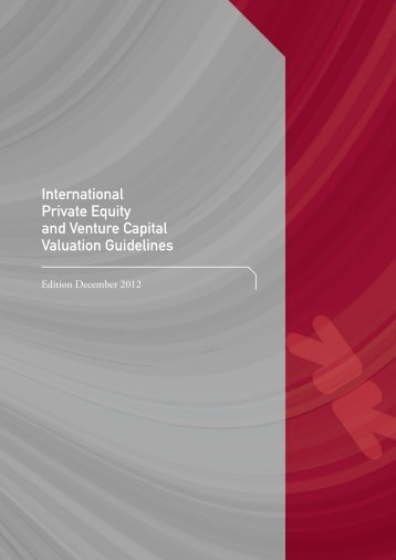 International Private Equity and Venture Capital Valuation ... - DVCA