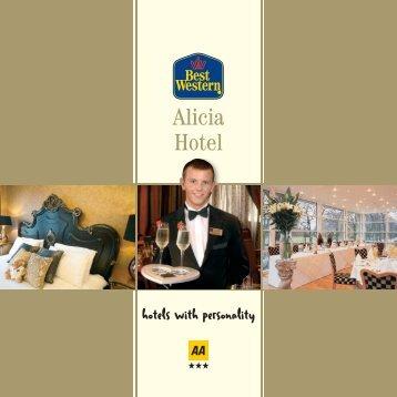 Alicia brochure - Feathers Hotel Group - UK.COM