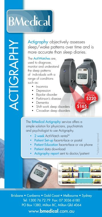 Actiwatch fdating
