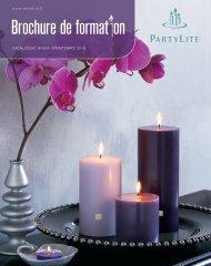Catalogue Hiver / PrintemPs 2010 www.partylite.fr