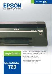 Printable Brochure - Epson