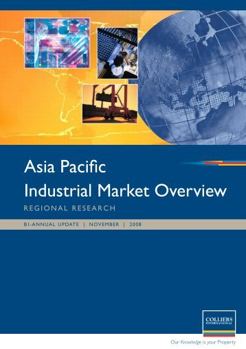 Asia Pacific Industrial Market Overview - Colliers