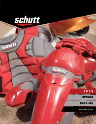 Schutt Sports 2008 Catalog