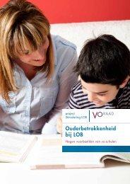 Download de brochure 'Ouderbetrokkenheid bij LOB' - VO-raad