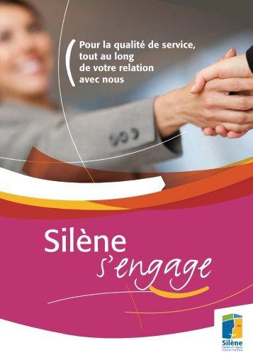 "Brochure ""Silène s'engage"", fév. 2013"
