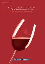 Guía para la evaluación sensorial de la calidad de los vinos tintos ...