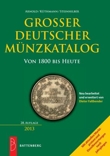 Großer Deutscher Münzkatalog - Gietl Verlag