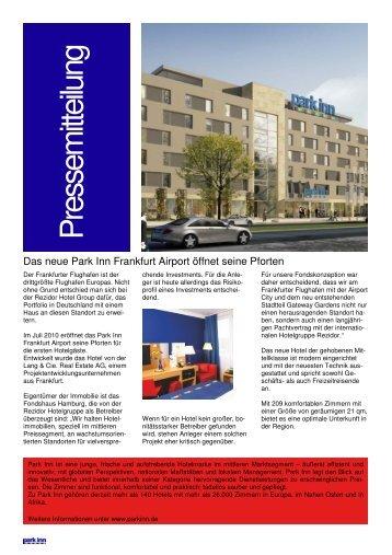 Eröffnung des ersten Hotels in Gateway Gardens - Groß und Partner
