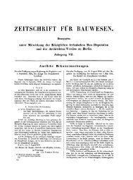 02. Zeitschrift für Bauwesen VII. 1857, H. I/II= Sp. 1-116