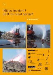 Milieu-incident? BOT-mi staat paraat! - BrandweerKennisNet