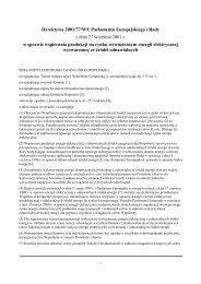 Dyrektywa 2001/77/WE Parlamentu Europejskiego i Rady z dnia 27 ...