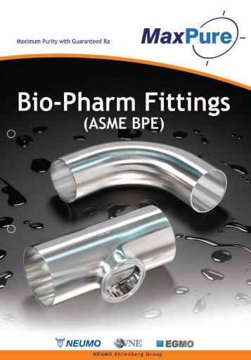VNE BPE Bio-Pharm Fittings - Tri-Canada