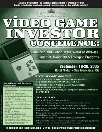 September 19-20, 2005 - ALM Events