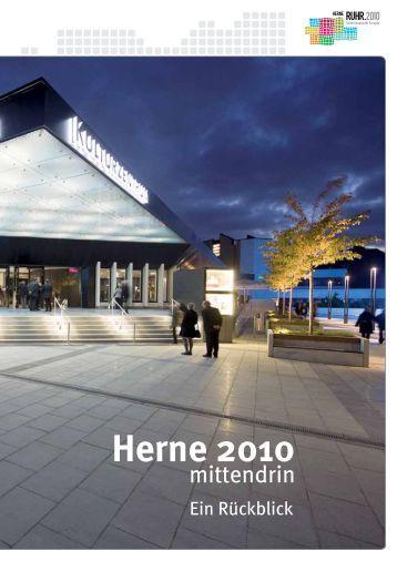 Broschüre Herne.2010 - Ein Rückblick - Stadt Herne