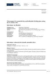 Tilsynsrapport Hvidbjerghus 10.10.2012