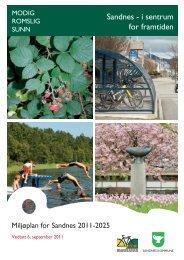 Miljøplan for Sandnes 2011-2025 - Sandnes Kommune